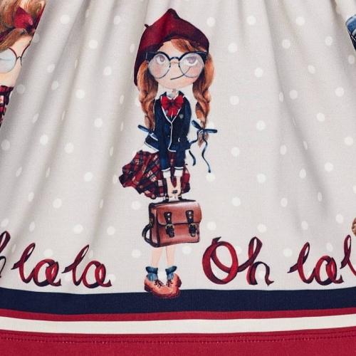 Платье с поясом Mayoral 4942-77