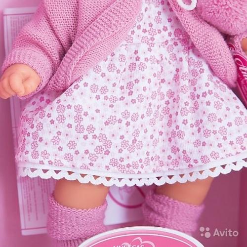 1220C Кукла Antonio Juan Азалия 27 см