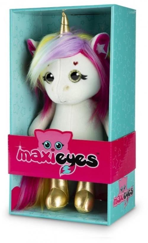 Мягкая игрушка MAXI Eyes Единорог МЭГ 22 см