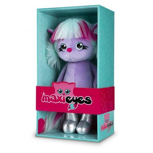 Мягкая игрушка MAXI Eyes Кошечка ЛИЛУ 22 см