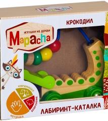 Лабиринт-каталка КРОКОДИЛ