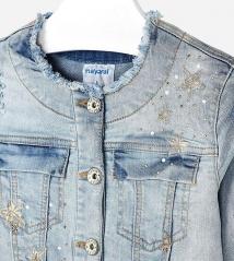 Джинсовая куртка  Mayoral 6409-34