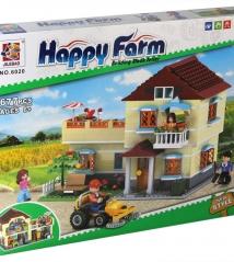 Конструктор Happy farm 6020 Загородный дом