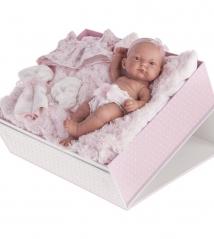 4068P Кукла Juan Antonio Младенец Карла в чемодане