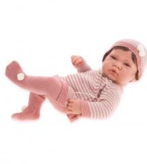 5014Р Кукла Antonio Juan Мануэла в розовом 42см