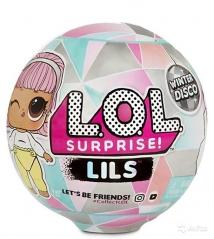 Шар  LOL lils Winter Disco 5 сюрпризов