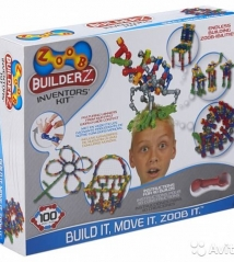 Конструктор Zoob Builder-Z Inventor's Kit,100 деталей