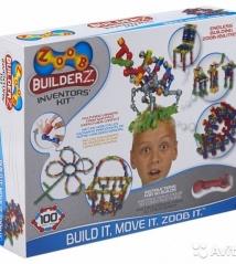 Конструктор Zoob Builder-Z Inventor's Kit,100 деталей