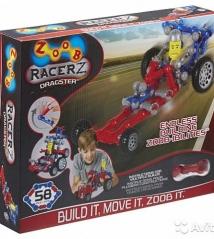 Конструктор Zoob Racer-Z Dragster 58 деталей
