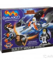 Конструктор Galax-z-Zoobodyssey, 45 деталей
