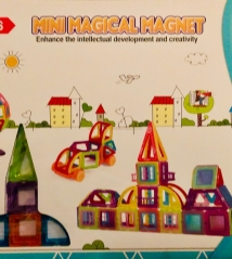 Конструктор mini  Magical Magnet HINBIDA 128 деталей