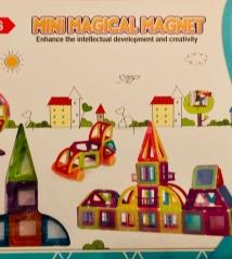 Конструктор mini  Magical Magnet HINBIDA 128 деталей